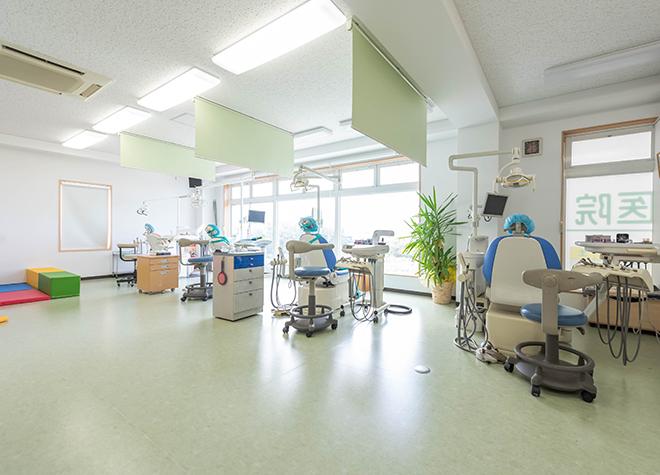 北松本駅 西口徒歩 10分 ごうや歯科医院の治療台写真3