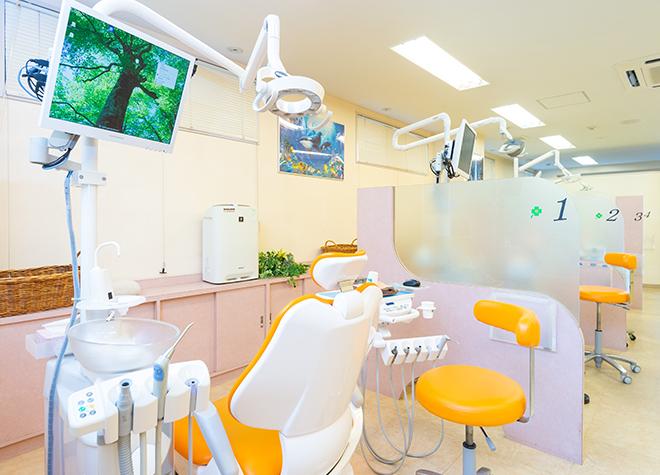 国立駅 北口徒歩8分 国立緑歯科クリニックの治療台写真2