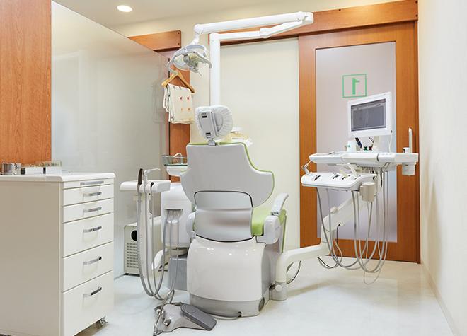 常盤駅(京都府) 出口徒歩 5分 あきた歯科クリニックの治療台写真3