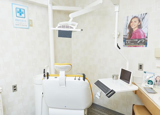 烏丸駅 西出口徒歩 1分 岡部歯科クリニックの治療台写真5