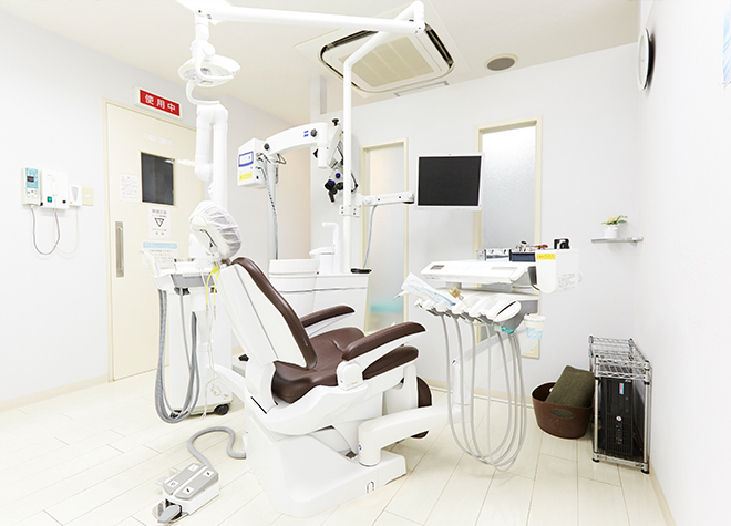 武蔵小山駅 徒歩 5分 すずき歯科医院の治療台写真5
