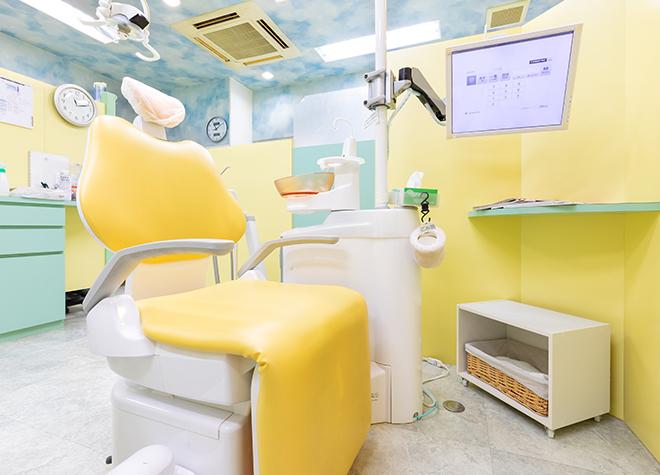 北巽駅 4番出口徒歩 2分 石山歯科クリニックの治療台写真2
