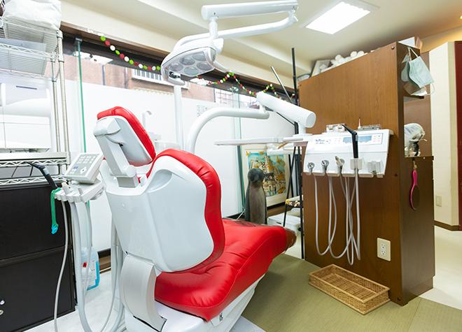 赤坂見附駅 10出口徒歩 3分 ササコ歯科クリニックの治療台写真2