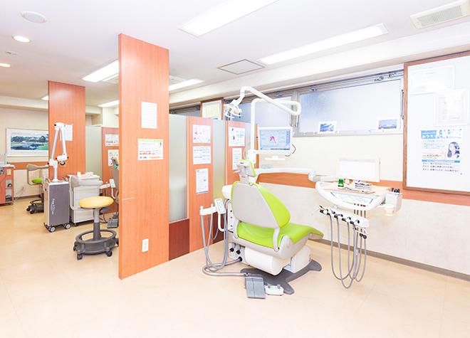 東神奈川駅 西口徒歩3分 栄治歯科クリニックの治療台写真2