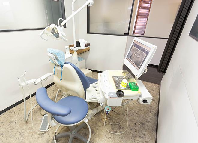 秋田駅 西口車6分 むさしデンタルオフィスの治療台写真7