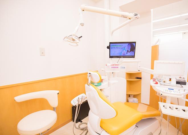 中百舌鳥駅 出口徒歩 1分 ニコニコ歯科なかもず駅前クリニックの治療台写真4