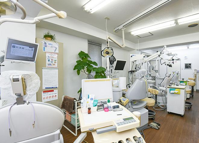 鶴瀬駅 西口徒歩 1分 鶴瀬西口歯科の治療台写真3