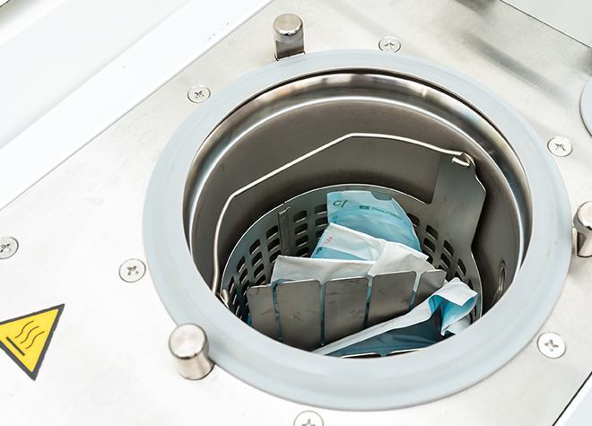 タービン含め治療器具の滅菌処理!衛生管理で院内感染を防ぐ