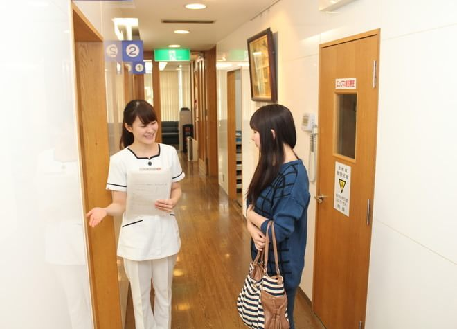 北浦和駅 東口徒歩1分 森山歯科クリニックのスタッフ写真2