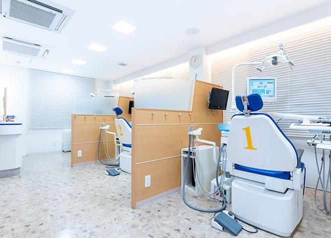 東松山駅 東口徒歩 4分 オリオン歯科の治療台写真4