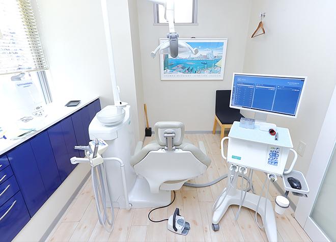鷺沼駅 出口徒歩 2分 かねやす歯科医院の治療台写真4