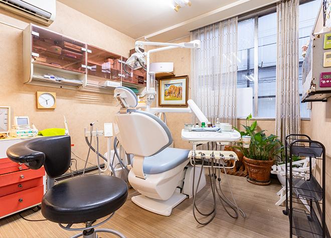 自由が丘駅 正面口徒歩 4分 自由が丘銀座歯科の治療台写真4