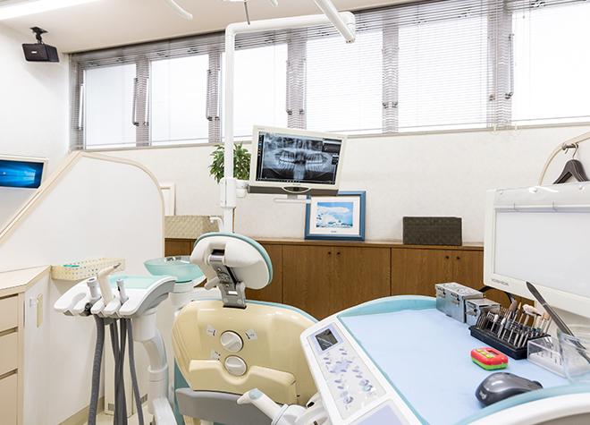 白石駅 徒歩5分 グレース歯科の治療台写真7