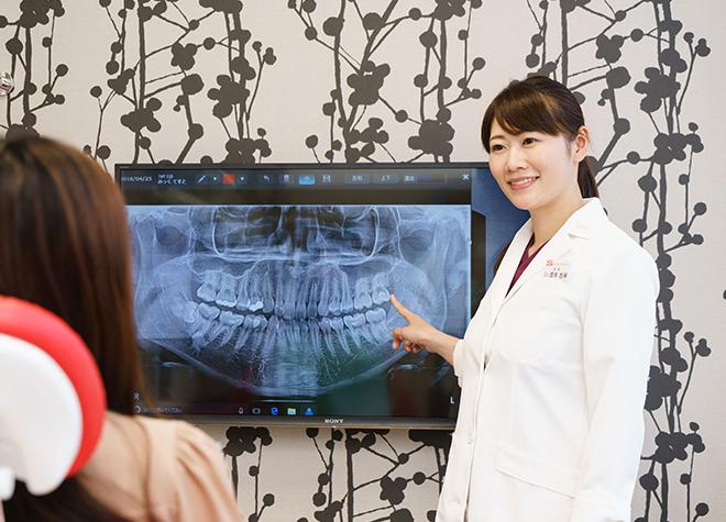 局所麻酔や笑気麻酔に対応!女性歯科医師によるリラックスできる治療