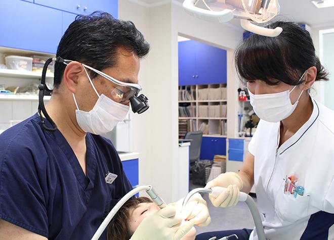 上野毛駅 出口2徒歩3分 溝口歯科医院写真3