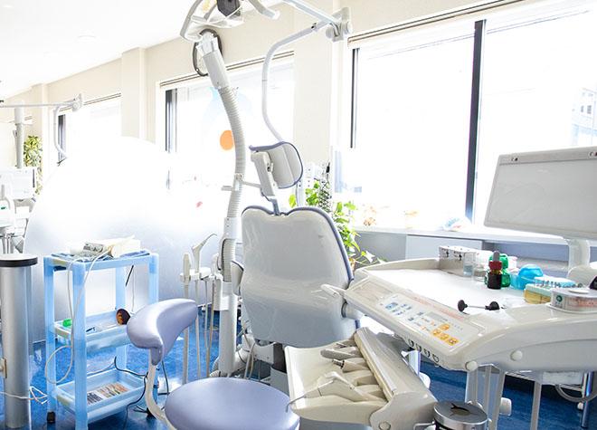 戸田公園駅 東口徒歩 2分 ひらつか歯科クリニックの治療台写真3