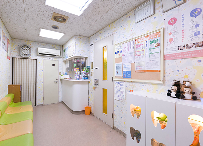 下曽根駅 北口車 8分 まりん歯科 小児歯科医院写真6