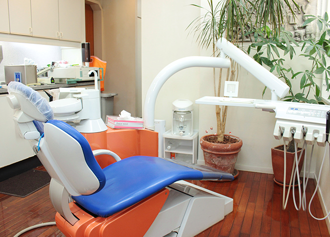 池村歯科医院の診療台