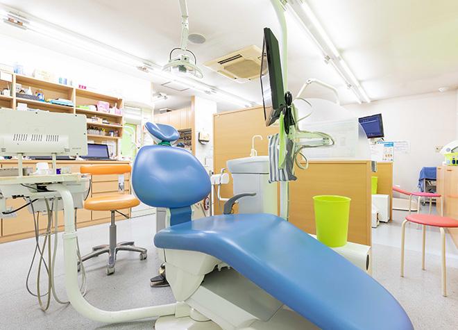 住道駅1番出口 徒歩20分 ごりょう歯科の治療台写真6