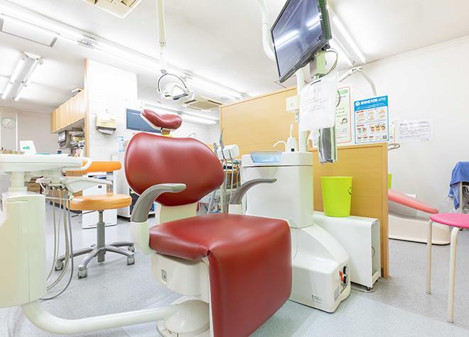 住道駅1番出口 徒歩20分 ごりょう歯科の治療台写真7