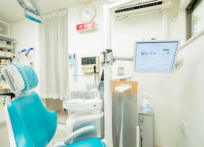 飯田橋駅 徒歩15分 青木第二歯科医院の治療台写真3