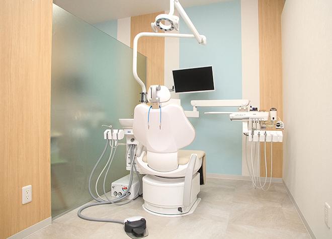 新越谷駅 徒歩1分 新越谷駅ビルそうごう歯科の治療台写真2