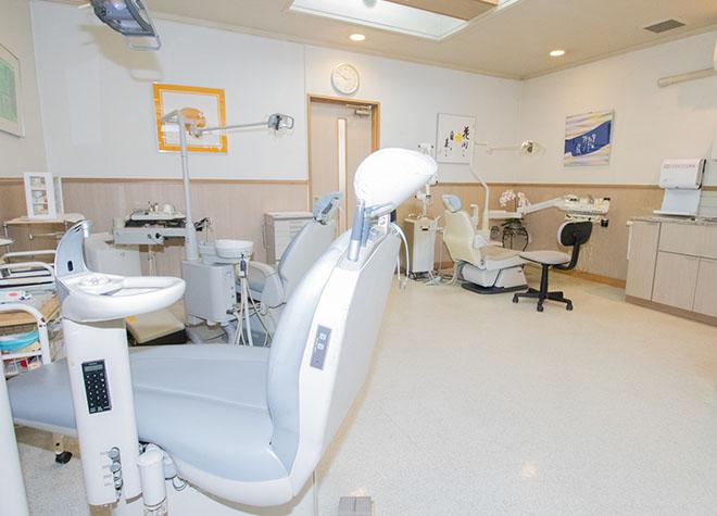 呉駅 出口徒歩 8分 舟橋歯科クリニックの治療台写真2