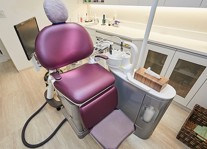 北習志野駅 出口徒歩 3分 船橋すずき歯科口腔外科矯正歯科の治療台写真2