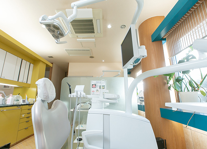 山前駅 出口徒歩 6分 阿部歯科クリニックの治療台写真5