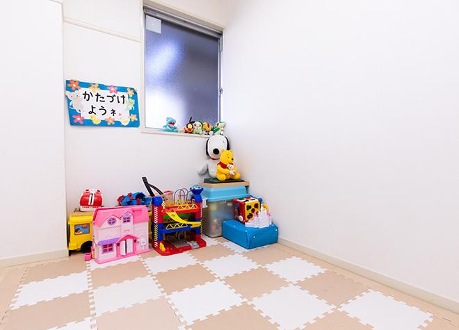 キッズスペースやおむつ台を設置!親子で通いやすい環境