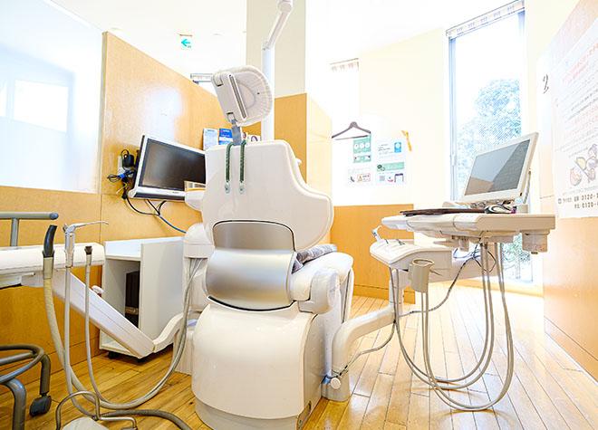 健軍町駅 出口徒歩 2分 熊本パール総合歯科・矯正歯科・こども歯科クリニック健軍院の治療台写真4