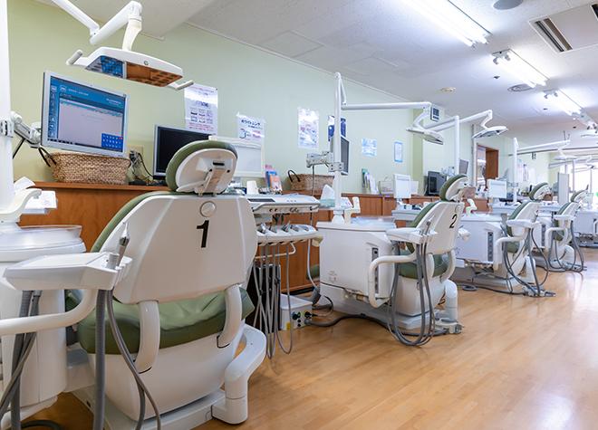 京王永山駅 出口徒歩 1分 永山センター歯科の治療台写真7