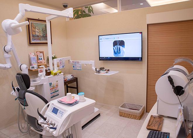 金手駅 徒歩9分 中央歯科医院の治療台写真3