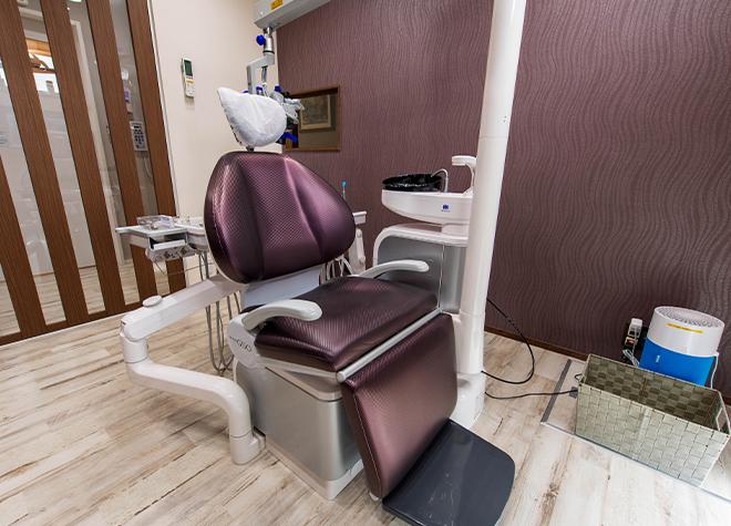 西阿知駅 出口徒歩 11分 西阿知クォーツ歯科クリニックの治療台写真5