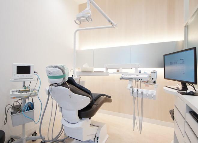 郡山富田駅 出口徒歩16分 グッスリ歯科クリニックの治療台写真1