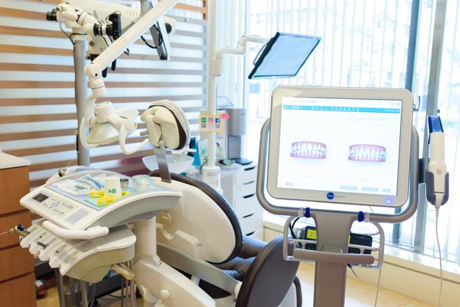 心斎橋駅 1番出口徒歩 1分 井上歯科クリニックの治療台写真4