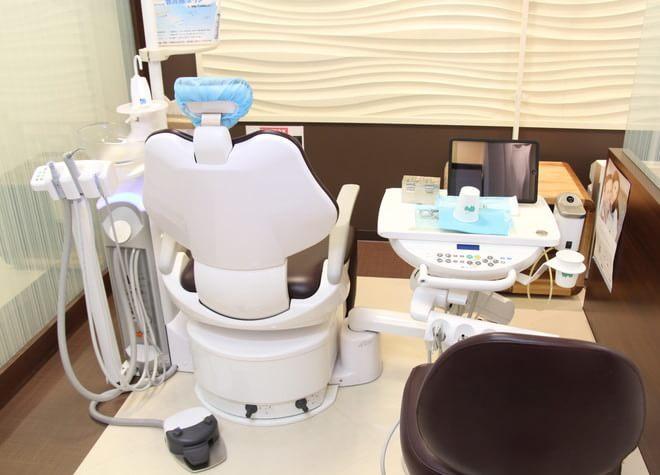 深井駅 出入口1徒歩 1分 Miho歯科医院の治療台写真5