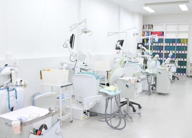 狭山市駅 西口徒歩1分 狭山市駅ビル歯科の治療台写真2