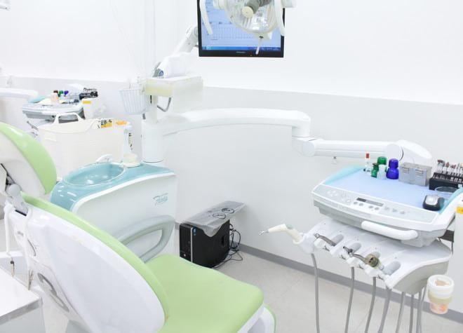狭山市駅 西口徒歩1分 狭山市駅ビル歯科の治療台写真3