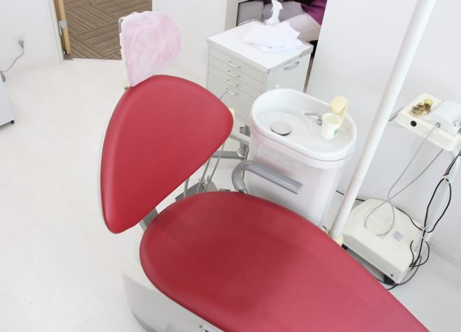 志木駅 南口徒歩 3分 歯科タケダクリニック志木の診療台の写真写真2