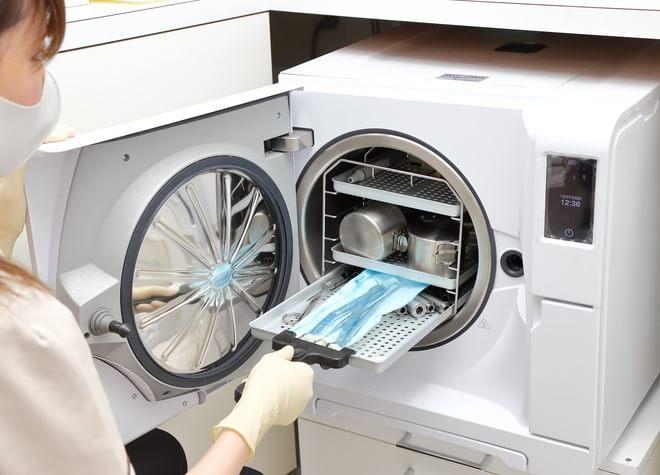 清潔な環境を維持!クラスBのオートクレーブで隅々まで滅菌