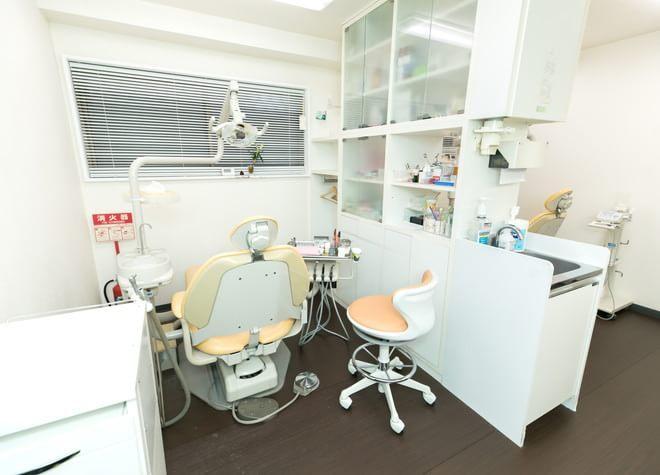 鶴見小野駅 1番出口徒歩 1分 石井歯科医院の治療台写真2