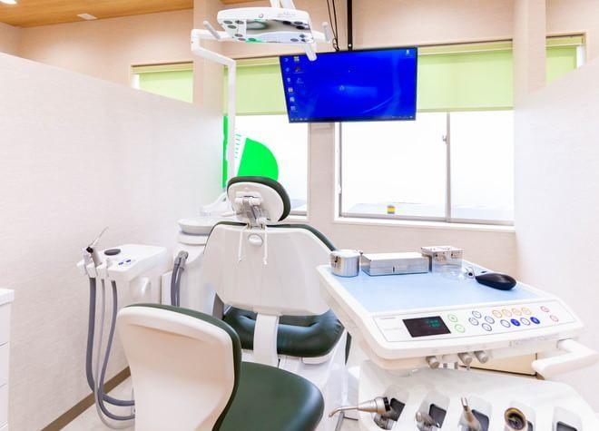 古河駅 出口車 17分 まつのき歯科クリニックの治療台写真4