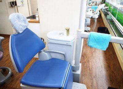 イタクラ歯科クリニックの診療台