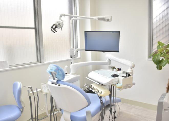 【八王子駅 南口徒歩5分】 うきち歯科医院の治療台写真2