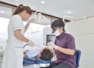 1.健康な歯を長く守ることを意識!なるべく歯を削らない治療を心がける