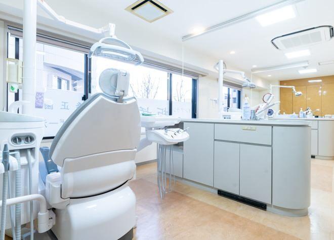 板橋駅 西口徒歩 3分 板橋歯科・矯正歯科の治療台写真2