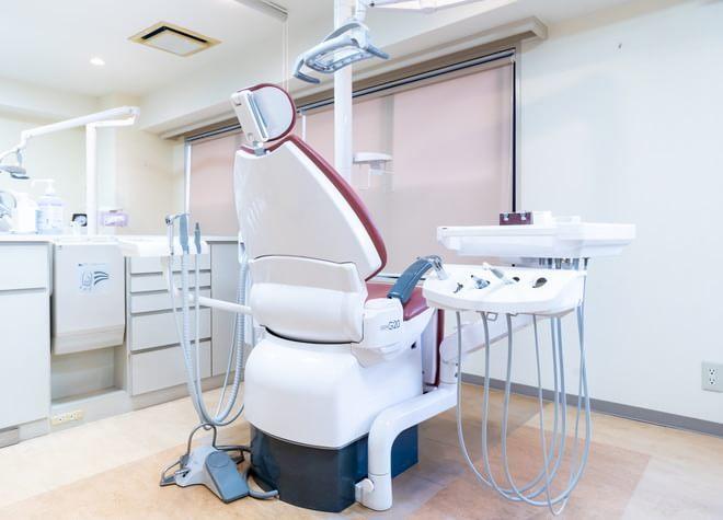 板橋駅 西口徒歩 3分 板橋歯科・矯正歯科の治療台写真3