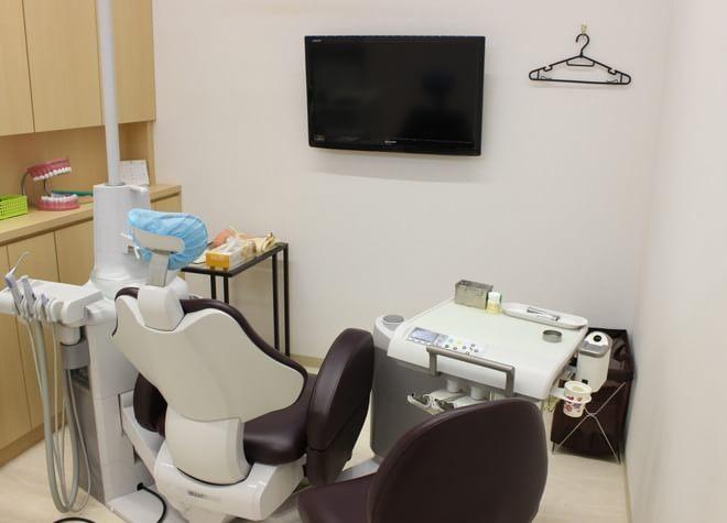 蕨駅 西口徒歩 1分 蕨・さくら歯科の治療台写真3