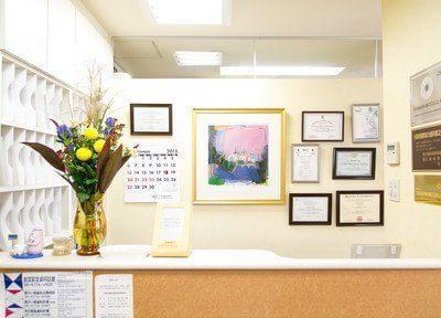 本町駅 12番出口徒歩 1分 八木歯科医院の受付写真1